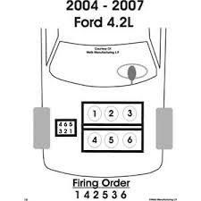 fireing order ford star fixya firing order for 2006 ford star