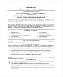 Executive Level Resume Samples Ptctechniques Info