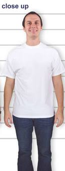 Customink Sizing Line Up For Hanes Beefy T Standard Sizes