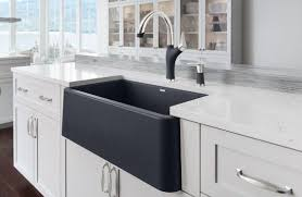 composite farmhouse sink. BLANCO IKON Silgranit Apron Front Farmhouse Kitchen Sink Is Pleased To Introduce The First Made Of Natural Granite With Composite