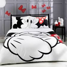 details about mickey minnie bedding sets 3pc of duvet cover pillowcase kids children