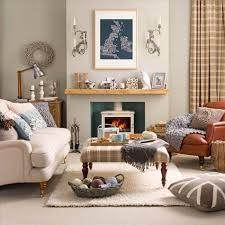 Image of: country living room borders