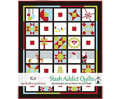 Meets Modern Quilt Kit & Merry Meets Modern Quilt Kit Adamdwight.com