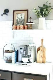 home coffee station home barista kitchen coffee station ideas and designs design the inspired room voted