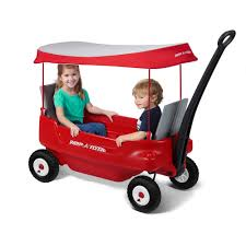 groupon radio flyer radio flyer deluxe all terrain pathfinder wagon with canopy review