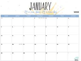 Printable Calendars For 2020 2020 Printable Calendar For Moms Imom