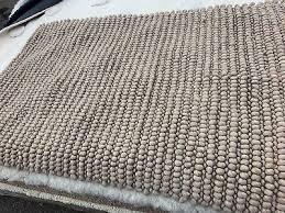 3 x 5 pottery barn teen textured wool rug oatmeal bedroom playroom area new