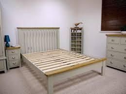 aspen white painted bedroom. Aspen Painted Oak Sage Grey 4u00276 Bedframe White Bedroom