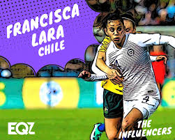 Francisca Lara Chile 2019 Womens World Cup Influencer