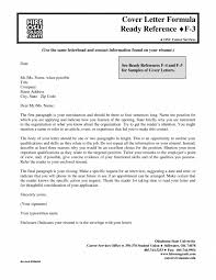 Creative Cover Letter Opening Sentence Examples First Sample 8