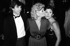 todd fisher children. Exellent Fisher Reynolds With Her Children Todd And Carrie Fisher In LA 1985 For Fisher Children R