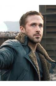 men s trench leather coat ryan gosling blade runner black shearling overcoat jacket