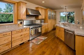 kitchen cabinets wood colors.  Cabinets This Lovely Wooden Kitchen Has A Dark Hardwood Floor That Matches The  Beautiful Colors In And Kitchen Cabinets Wood Colors