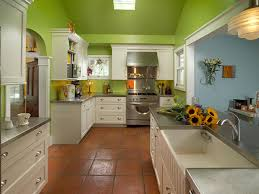 Kitchens With Saltillo Tile Floors Bright Green Kitchen Makeover Laura Dalzell Hgtv