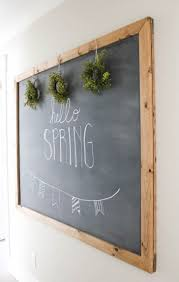 decorative chalkboards for various functions. How Make Your Own Large Hanging Chalkboard Diy Decorative Kitchen Chalkboards Modern Kids Framed Pottery Barn For Various Functions I