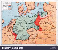 map of prussia in germany circa  stock photo royalty free