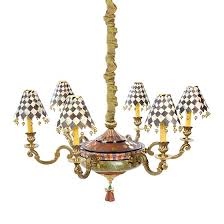 mackenzie childs grandolier chandelier