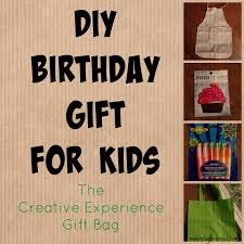diy gift idea for kids the creative experience gift bag