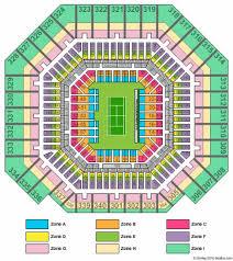 Arthur Ashe Stadium Tickets And Arthur Ashe Stadium Seating