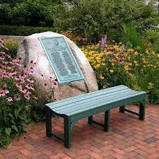 polywoodar traditional recycled plastic backless garden bench backless outdoor bench polywoodar traditional recycled plastic backless garden bench hayneedle
