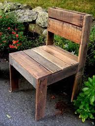 diy outdoor pallet furniture. diy pallet outdoor armless chair furniture more diy n