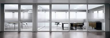 texturize the midsection of your glass room dividers for a little privacy