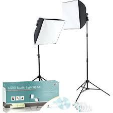 full image for photo studio lighting kit photography backdrop stand 3 muslin light manning home kits