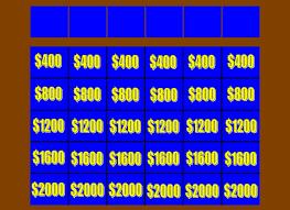 Jeopardy Powerpoint Template Cool Jeopardy Powerpoint Template Delectable Templates Jeopardy Board