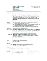 Nurse Resume Examples Cool Sample Care Nurse Resume Sample New Grad Resume Long Term Care Nurse