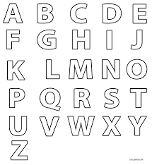 Small Picture Printable Alphabet Coloring Pages For Toddlers Coloring Pages