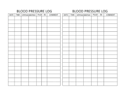 Blood Pressure And Pulse Chart Template Blood Pressure Graphs Templates Fresh Graph Printable Blank