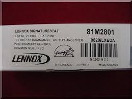 lennox signaturestat. lennox signaturestat x