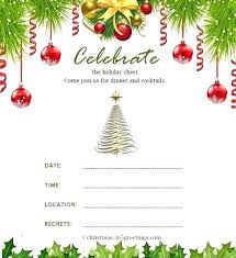 Company Christmas Party Invites Templates How To Write A Christmas Party Invitation Sepulchered Com
