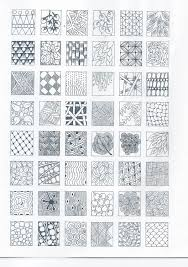Tangle Patterns Fascinating Zentangle Nice Selection Of Tangle Patterns Should Be Easy To