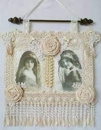 crochet wall hanging boho chic wall art