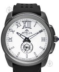 ᐉ Наручные <b>часы Appella</b> AP.<b>4413.21.0.1.01</b> Черный • Купить в ...