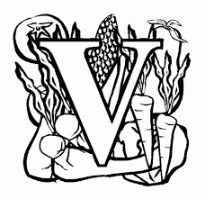 Small Picture Letter V Coloring Page intended to Really encourage in coloring