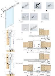 sliding glass door plan. KSUG Sliding Glass Door System Plan A