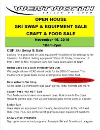 open house ski swap equipment craft food ski open house ski swap equipment craft food ski wentworth