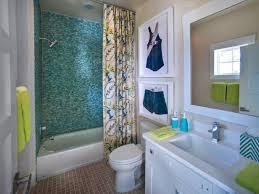 bathroom designs for kids. Brilliant Kids Blue Glass Tile Shower In A Charming Kidu0027s Bathroom On Designs For Kids