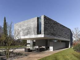 House M stylish houses modern architecture Contemporary Stone house 2