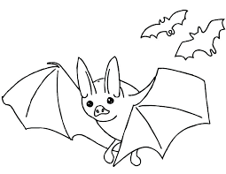 free children coloring pages.  Coloring Bat Coloring Page Free Printable Pages Bats Children  With N
