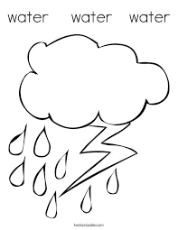 Water Coloring Sheet Printable Water Cycle Coloring Sheets The Best