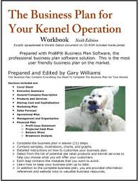 Write My Business Plan Kennel