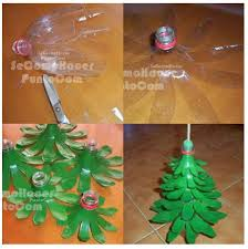 Christmas Decorations Made Out Of Plastic Bottles DIY Plastic Bottle Christmas Tree DIY Projects UsefulDIY 10