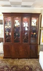 Hickory Chair Hickory Chair Mahogany China Cabinet Windsor Cottage