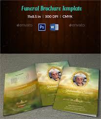 Memorial Pamphlet Template 17 Memorial Brochure Templates Psd Vector Eps Format Download