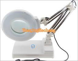 led desk lamp with magnifying glass awesome aliexpress white led desk table adjule arm