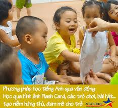 Tiếng Anh cho trẻ 3 - 3.5 tuổi Star Edu
