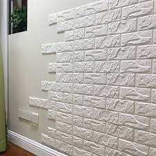 white brick 3d wall panels l